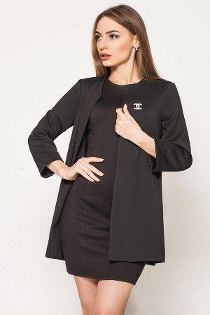 Кардиган жакет пиджак черный