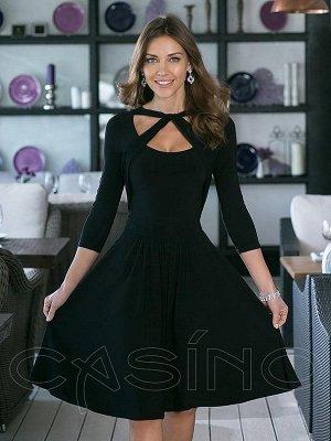 Платье черное, как на фото, р.44, 44-46