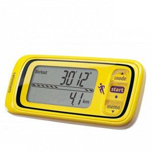 Монитор активности HJA-300-EK желтый