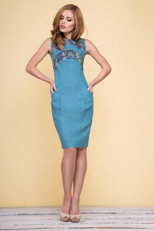 Платье LENTA 100% лен распродажа на р44.5-46