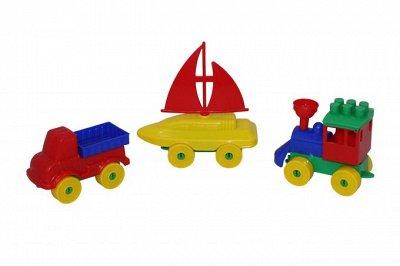 Полесье. Любимые игрушки из пластика. Успеем до повышения — Конструктор Юный путешественник — Конструкторы и пазлы