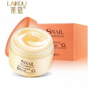 Ночная крем/маска для лица Laikou Snail Nutrition Sleeping Mask, 75g