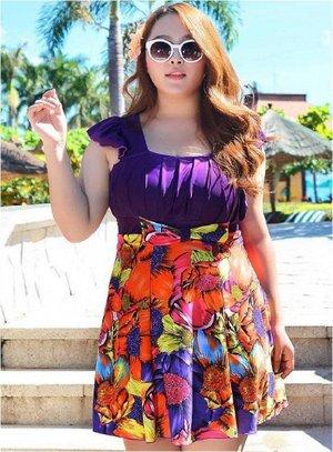 Купальник-платье сплошной