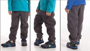 Детские флисовые брюки