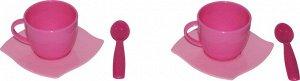 """Набор детской посуды """"Алиса"""" на 2 персоны (6 элементов) (в сеточке)"""