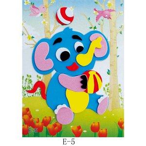 Слоненок Размер 17*12,5 см.