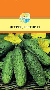 овощи 10 шт в 1 уп Гибрид корнишонного типа первая завязь образуется через 40-45 дней после всходов, масса 90 гр., длиной 10-12 см.
