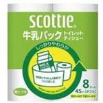 """Туалетная бумага из переработанной целлюлозы Crecia """"Scottie"""" с легким ароматом, двухслойная 8 рул. (45м)"""