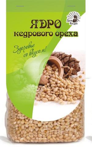 Отборное ядро сибирского кедрового ореха, в/с 100гр