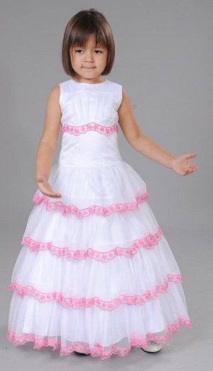 платье роз.
