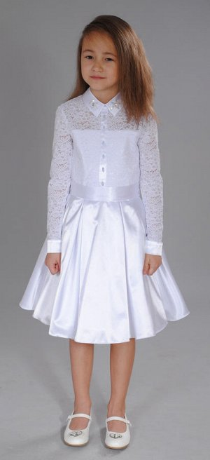 платье белый