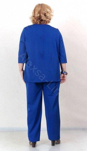 Костюм К13 Состав: 97% п/э, 3% эластан длина рукава 0,30см Костюм свободного кроя Плотная костюмная ткань, приятная на ощупь. Обладает несминаемостью, износостойкостью, стрейч Производство Россия