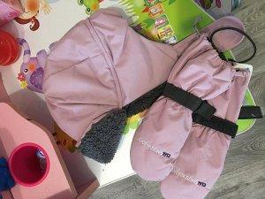 Шапка Дидрик. Размер 52.цвет розовая пудра.