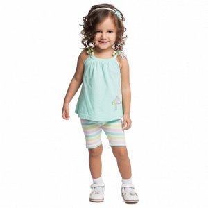 Пристрою комплект: майка + шорты Плей Ту*дей на девочку