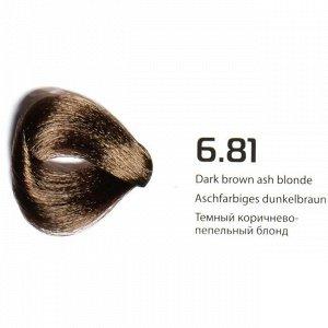 6.81 темный коричнево-пепельный блонд