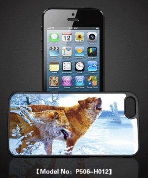 Чехол голографический 3D пластик iphone