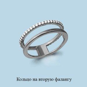 Серебряное кольцо на вторую фалангу пальца (РЕАЛЬНЫЕ ФОТО)