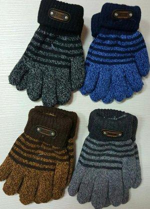 Перчатки Двойные, 6-10 лет