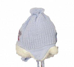 шапка зимняя на мальчика 4-6 лет