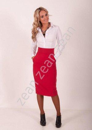 Яркая эффектная юбка