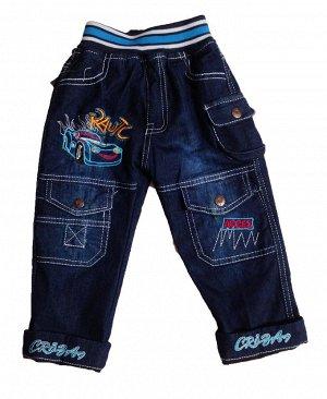 Джинсы детские синие для мальчика