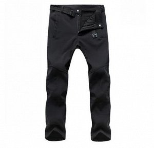 Водоотталкивающие теплые брюки на флисе .