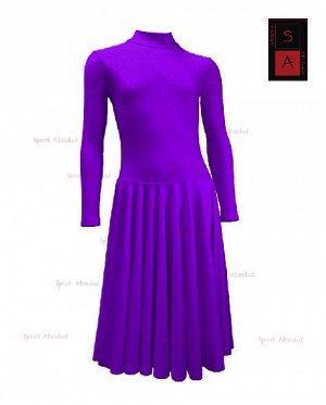 Рейтинговое платье Р 41-011 ПА ярко-фиолетовый