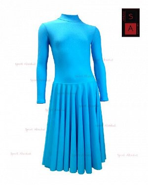 Рейтинговое платье Р 41-011 ПА голубой