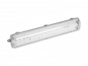 Светильник СВЕТОЗАР пылевлагозащищенный для люминесцентных ламп