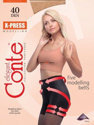 X-Press 40 колготки (Conte)/8/ шортики,с моделирующим эффектом