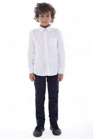 Белая рубашка для мальчика, можно в школу.