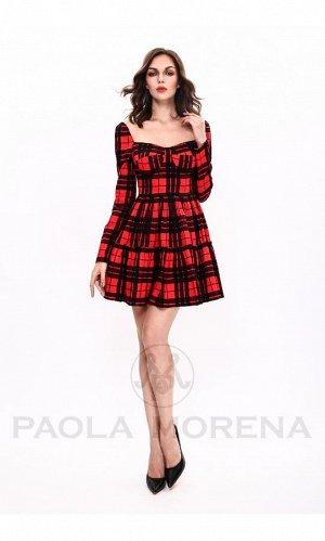 Платье 44 размер PAOLA MORENA