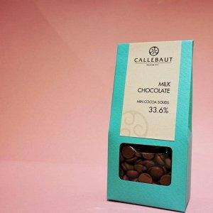 Шоколад молочный Callebaut 33,6%