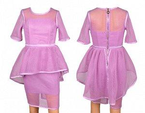Платье 781456 13-21 130-162/5 сиреневый