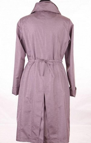 плащ цвет и качество на 3 фото, плащ-пыльник,  с подкладом, симпатичный, св-серый, длинный - с костюмами, юбками, платьями... (конец лета-осень)