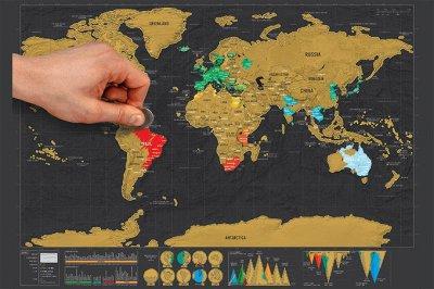 Для отдыха и путешествий. Гамаки, термосумки, термобоксы .   — Стиральные карты мира — Школьные принадлежности