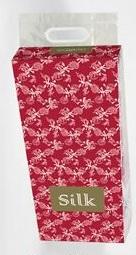 """20132gt """"SILK"""" Четырехслойная туалетная бумага в индивидуальной упаковке, 10шт"""