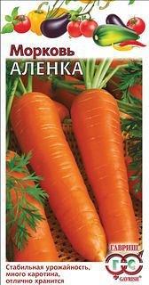 Семена «ГАВРИШ» в наличии, огромный ассортимент — МОРКОВЬ — Семена овощей