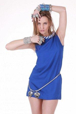 Ярко малиновое платье как на фото