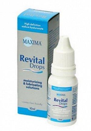 Капли для контактных линз Maxima Revital Drops, 10мл