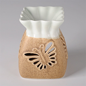 "Аромалампа ""Бабочка"", керамика, 8х10 см"