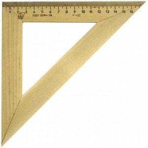 Треугольник 45°, 18см Можга, дерево