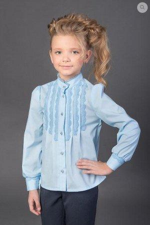 Хорошая школьная блузка на р.116-122