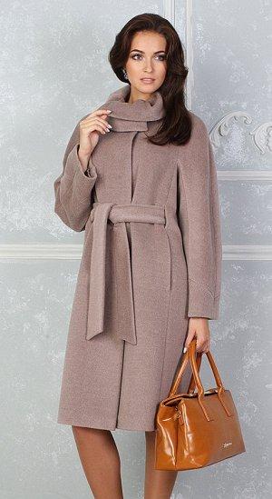 Пальто Соната распродажа 50 размер бежевый