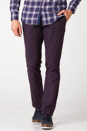 Мужские брюки темно-фиолетовые