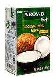 """Кокосовое молоко """"AROY-D"""" 70%, Tetra Pak (жирность 17-19%)"""