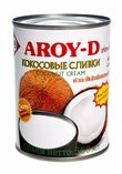"""Кокосовые сливки """"AROY-D"""" 70%, ж/б (жирность 20-22%)"""