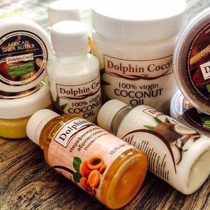 Мегараспродажа ЭКОпродуктов - 104 — Масла нерафинированные Dolphin Coco — Диетические растительные масла