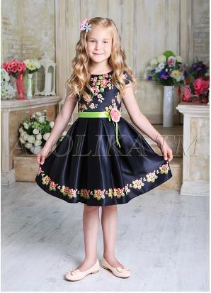 Чудесное оригинальное платье для юных модниц