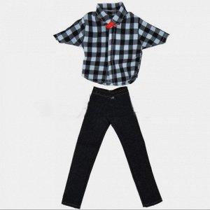 Комплект мужской одежды (рубашка + джинсы)